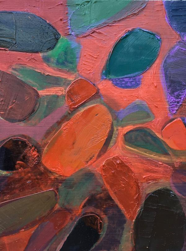 cacti 4,  30x26  cm,  oil on canvas