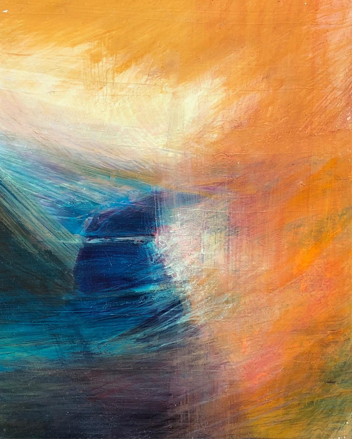 River Deep 2019 , oil on panel, 37 x 28.5cm