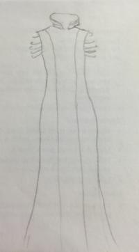 Muni Fry sketch for The Met Gala 2015