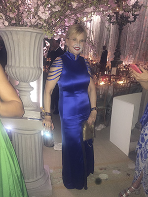 Muni Fry at The Met Gala 2015
