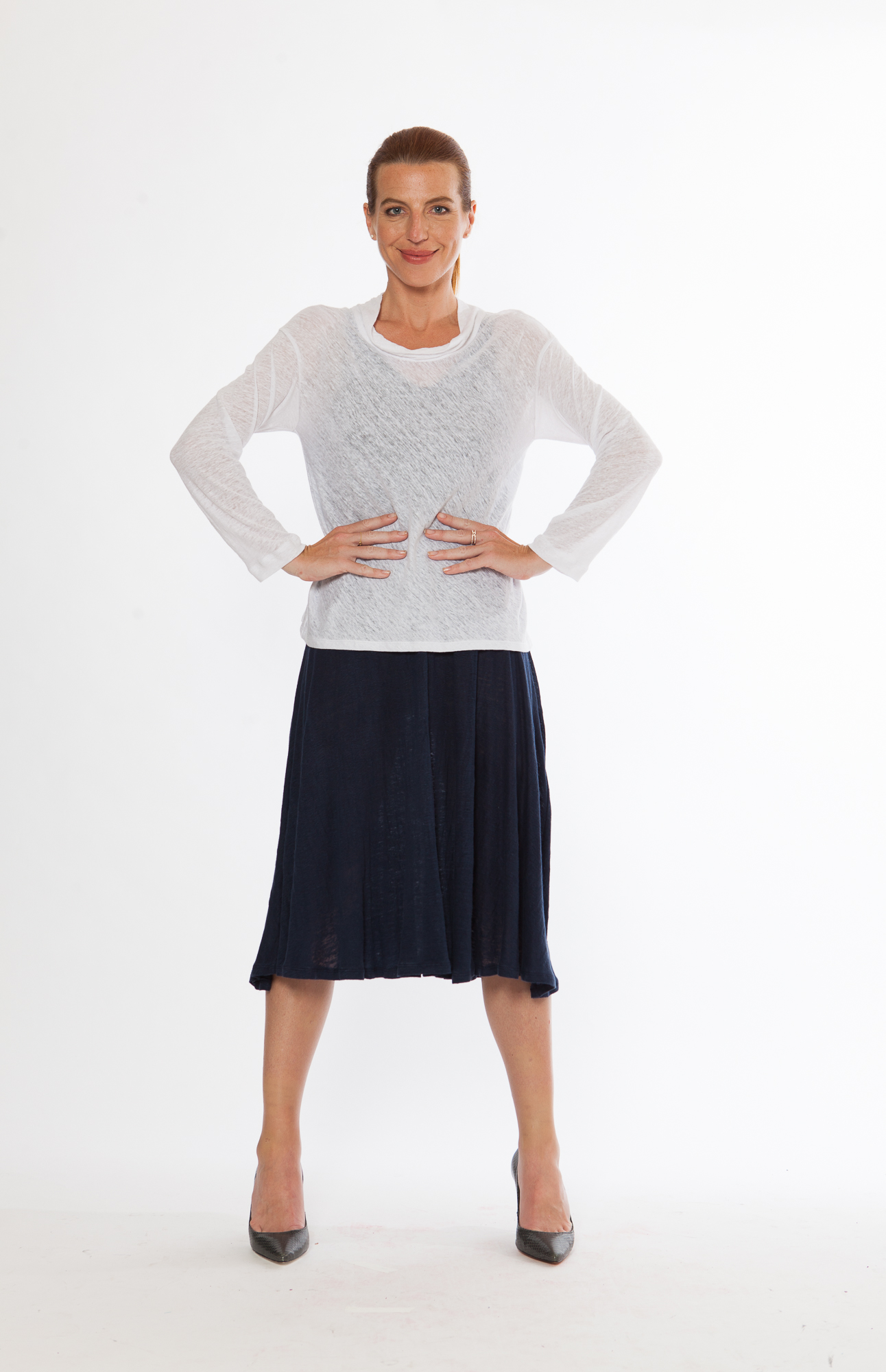 Easy Top + Ripple Skirt