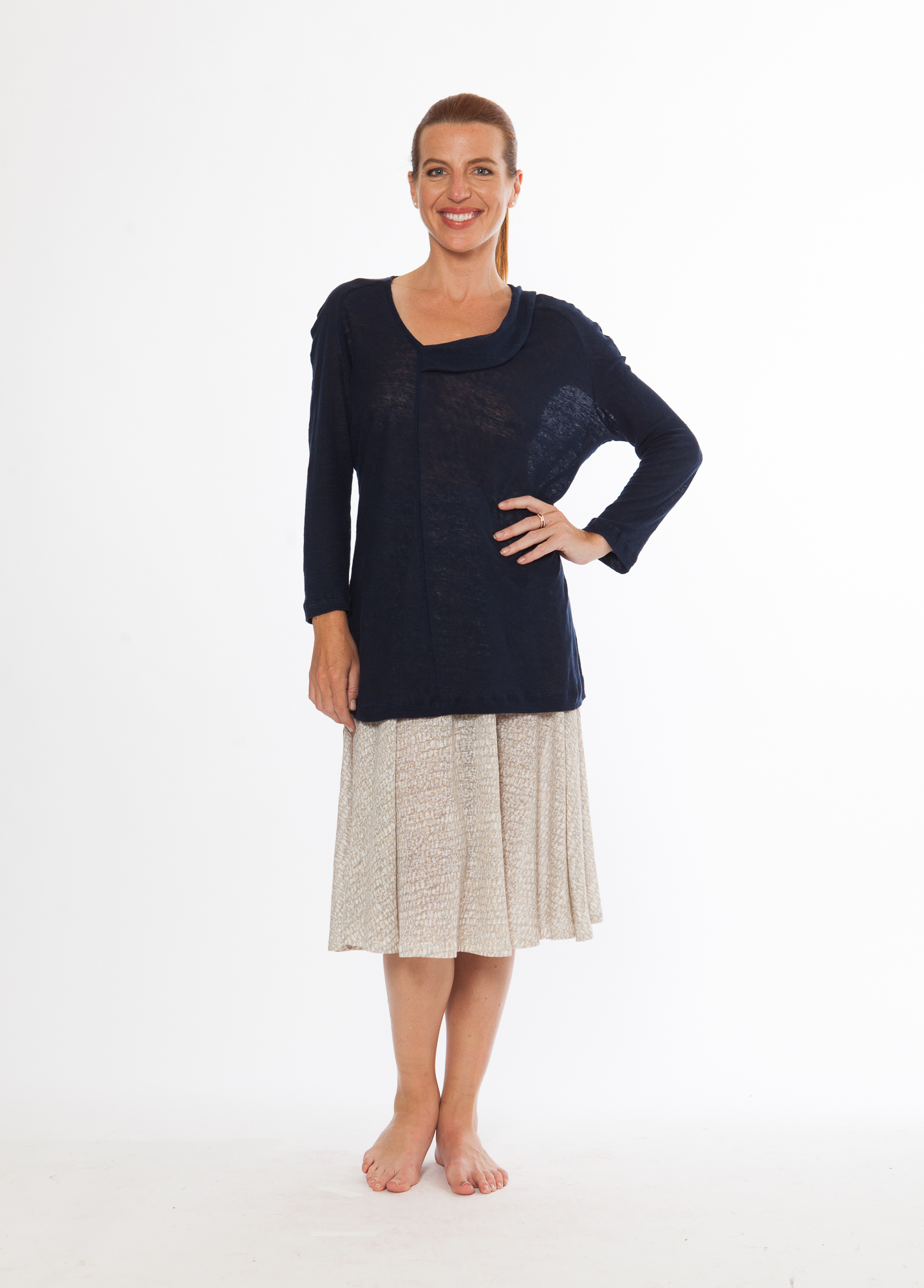 Wave Tunic + Ripple Skirt