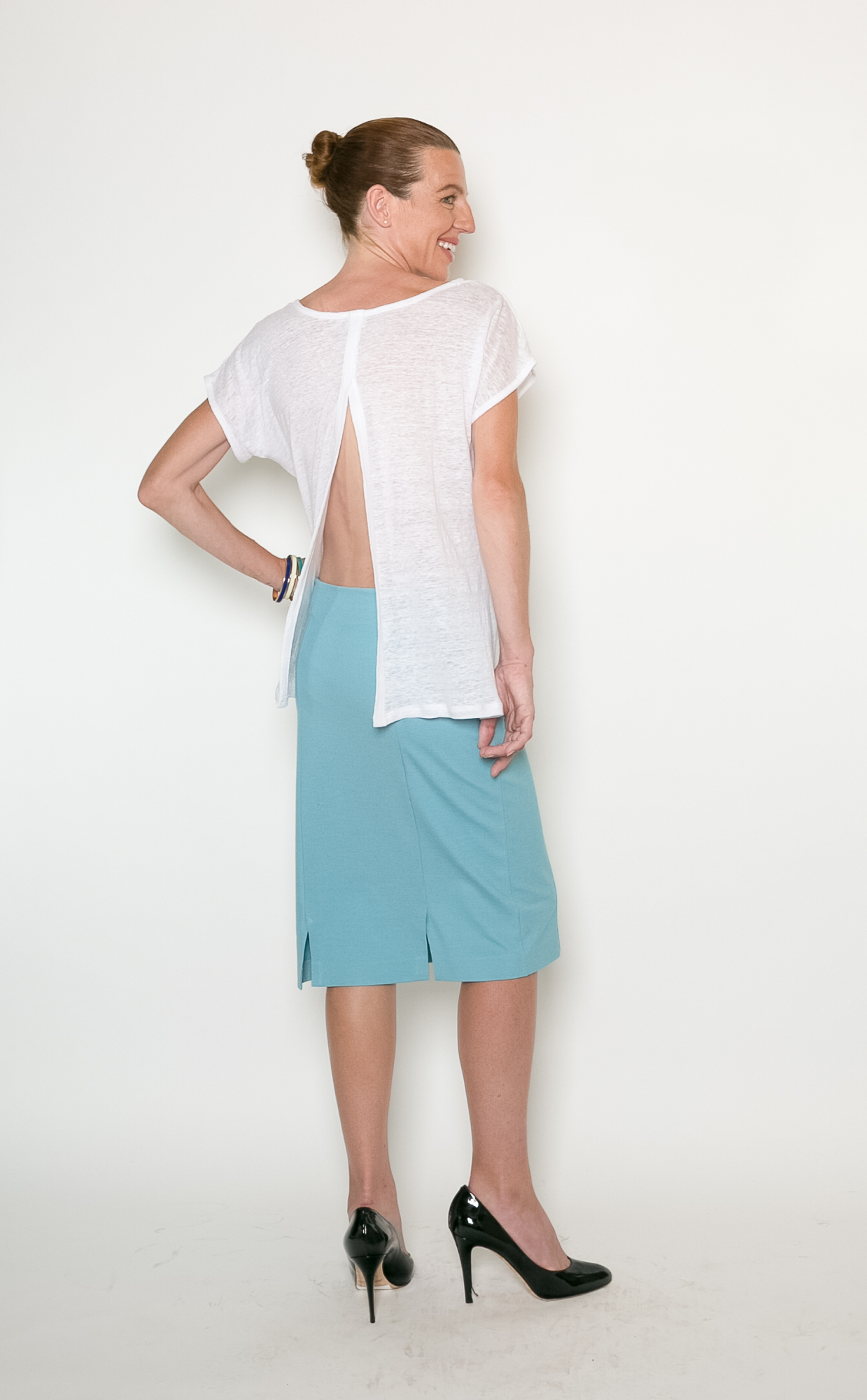 Contemplative Top + Emergent Skirt