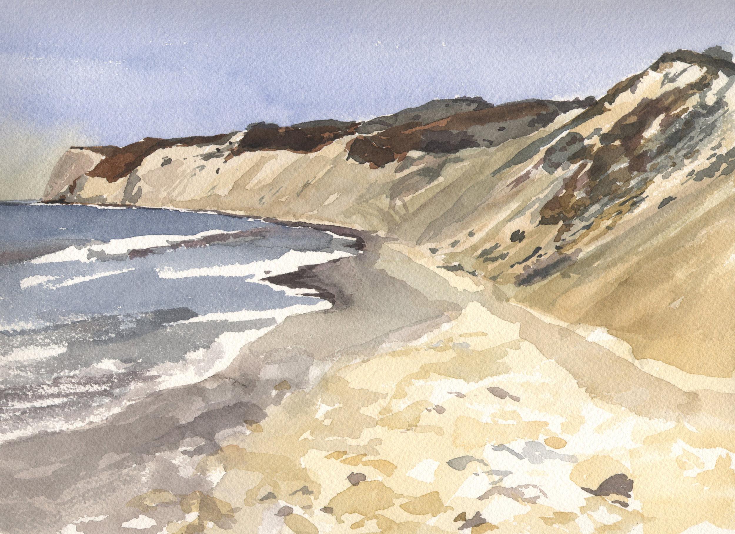 Watercolor Palomarin Beach 1.jpg