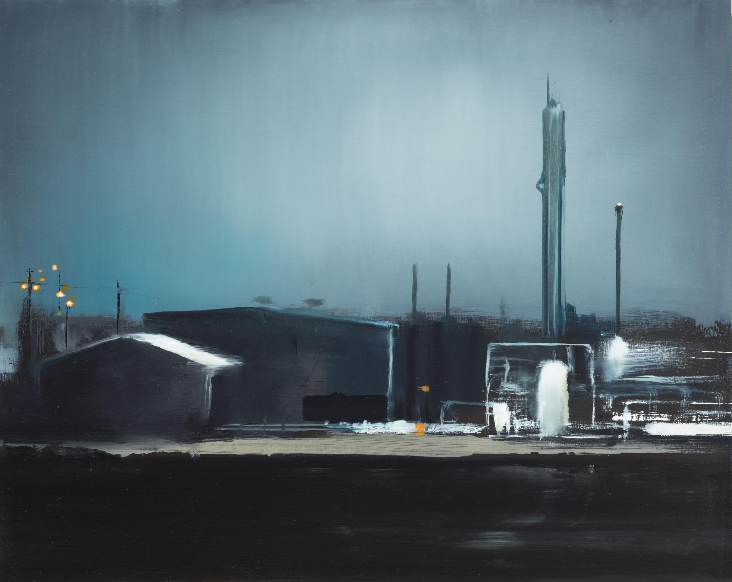 "texas study  •  16"" x 20""  oil on panel  2013"