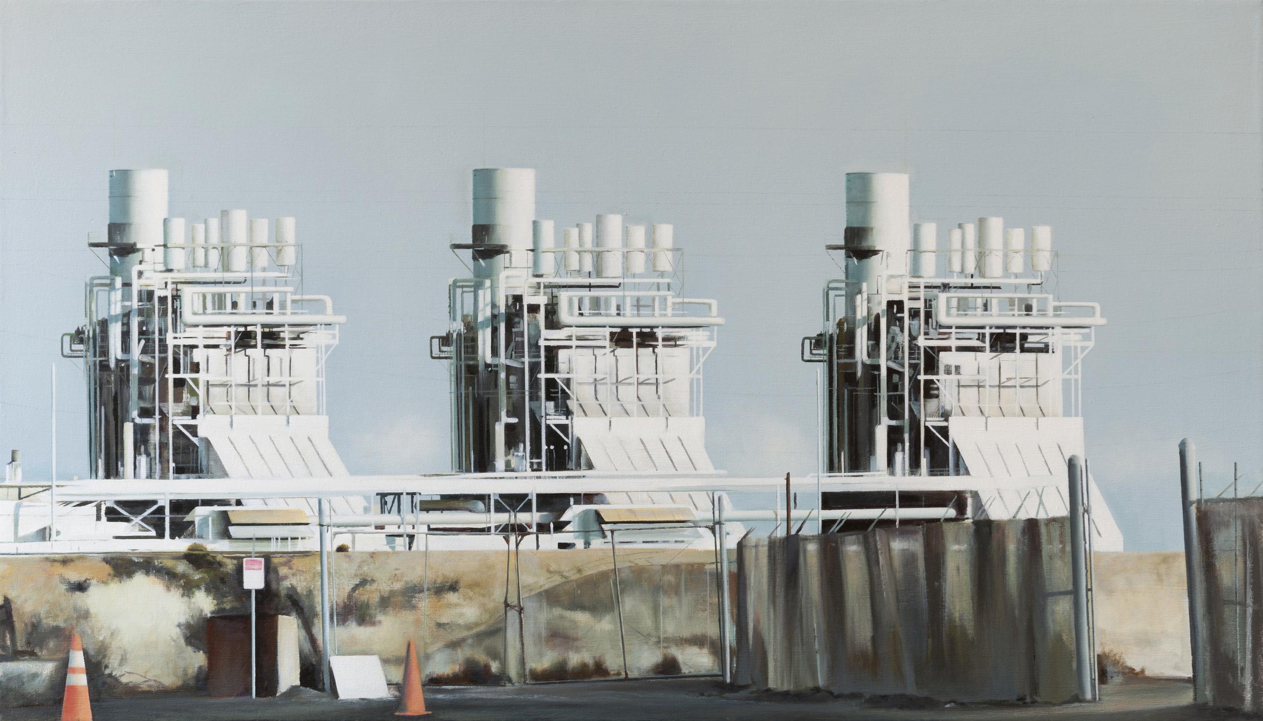 """power  •  34"""" x 60""""  oil on canvas  2012"""