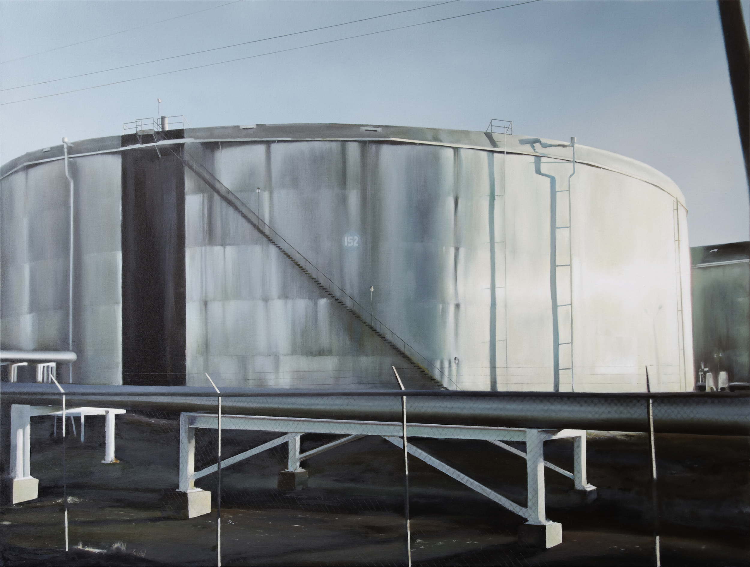 "152   49"" x 65""  oil on canvas  2011"