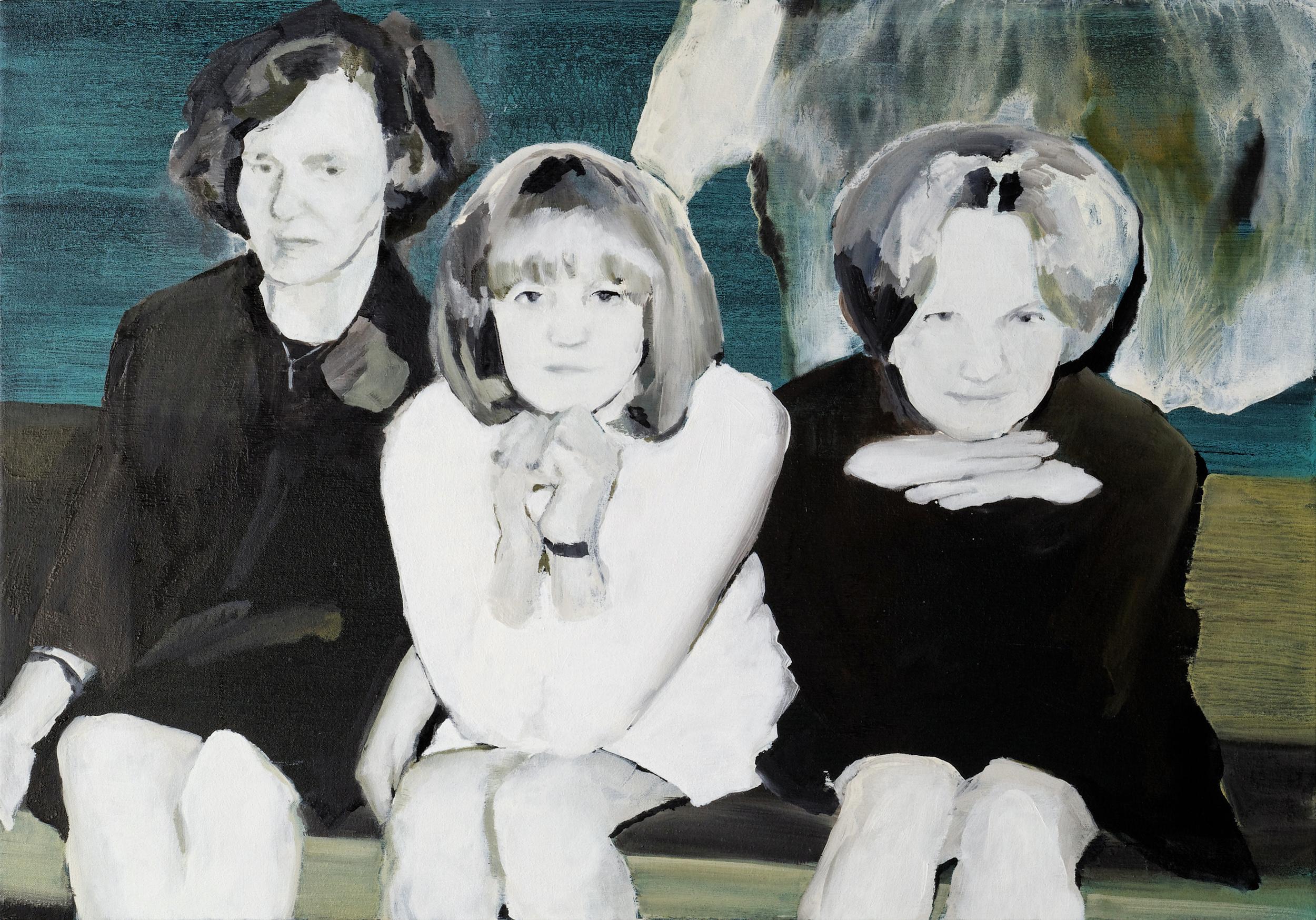 """raija sirpa nadja •  28"""" x 40""""  oil on canvas  2009"""