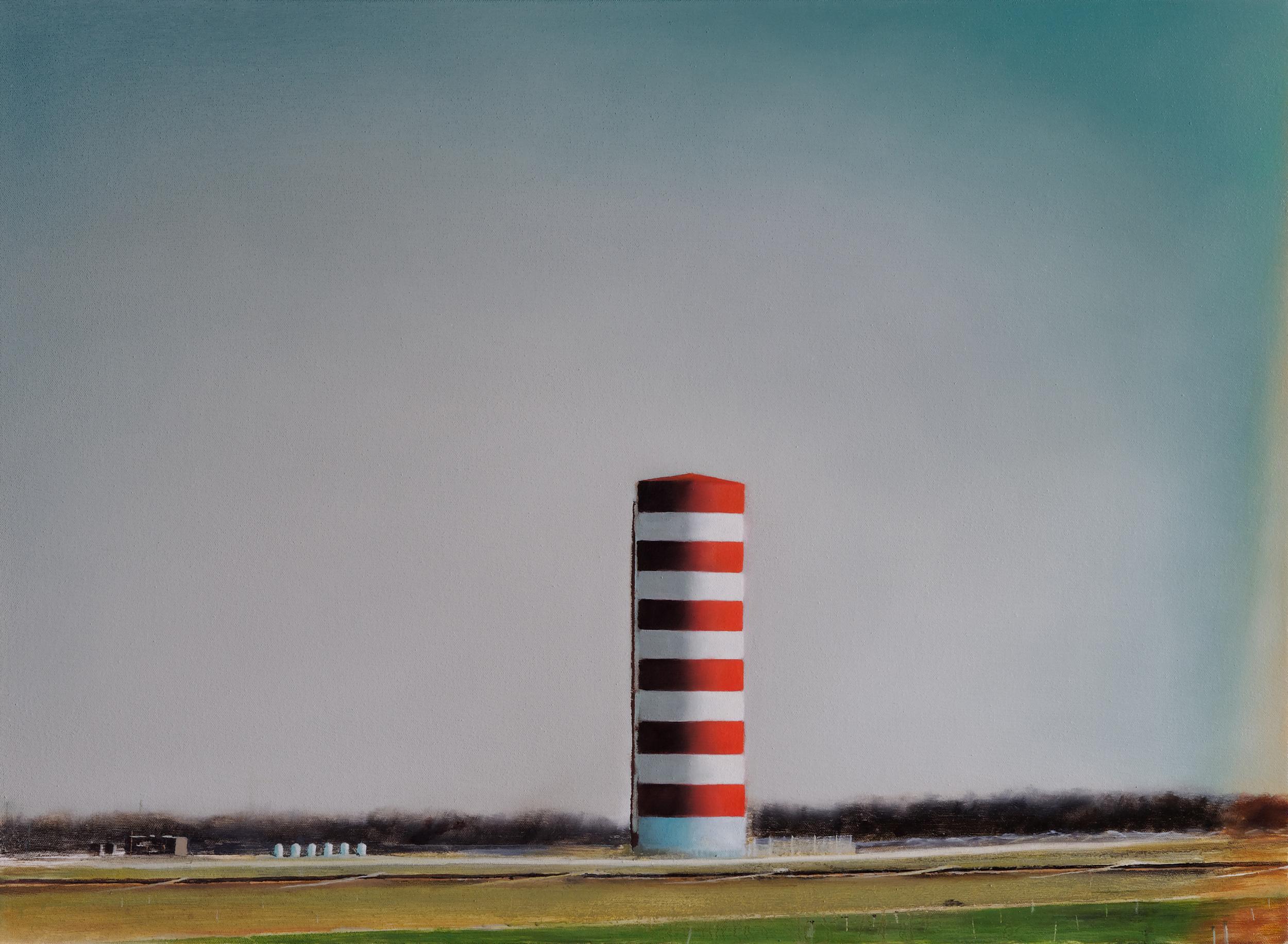 "silo •  22"" x 30""  oil on canvas  2009"
