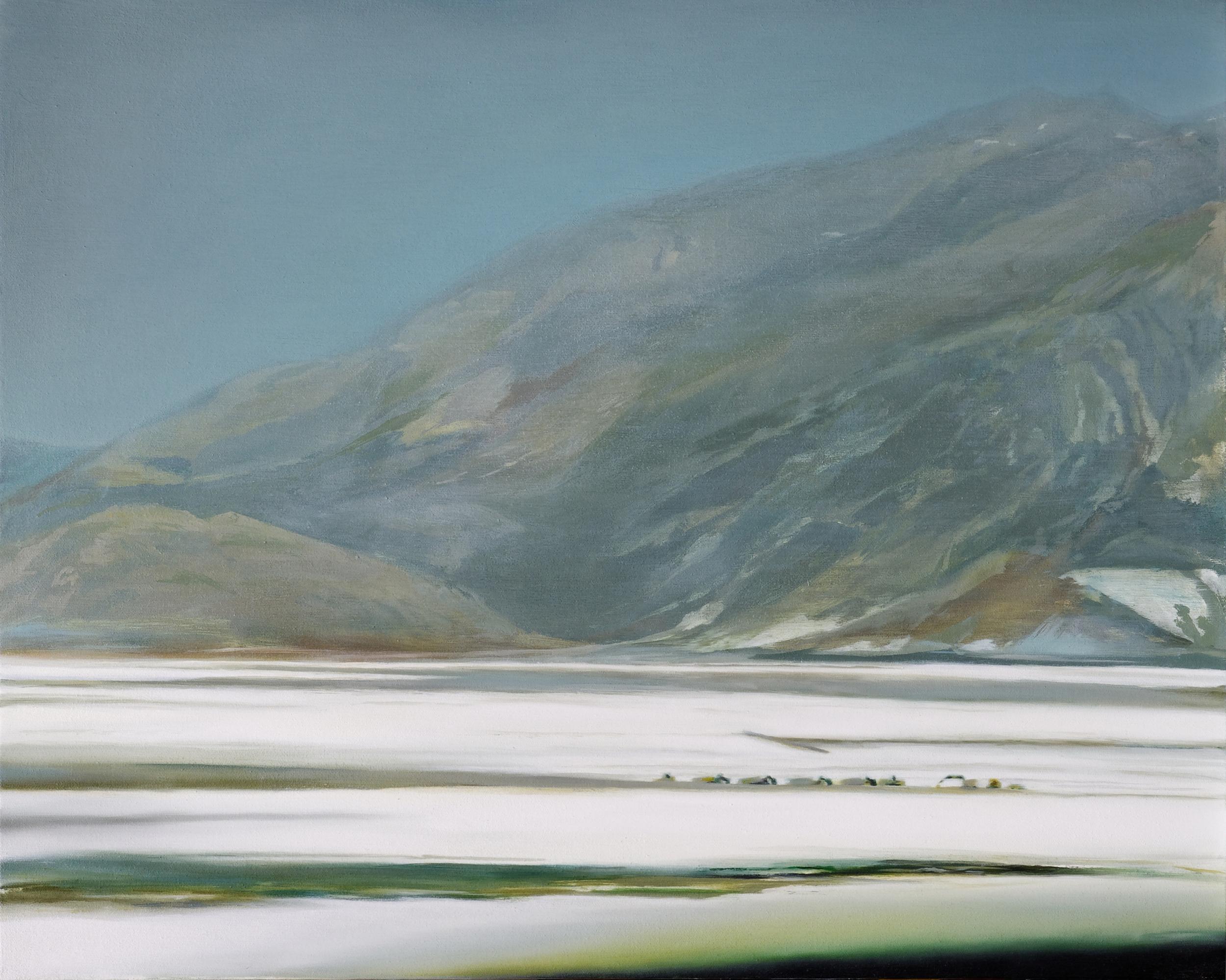 """fresh jerky   24"""" x 30""""  oil on canvas  2009"""