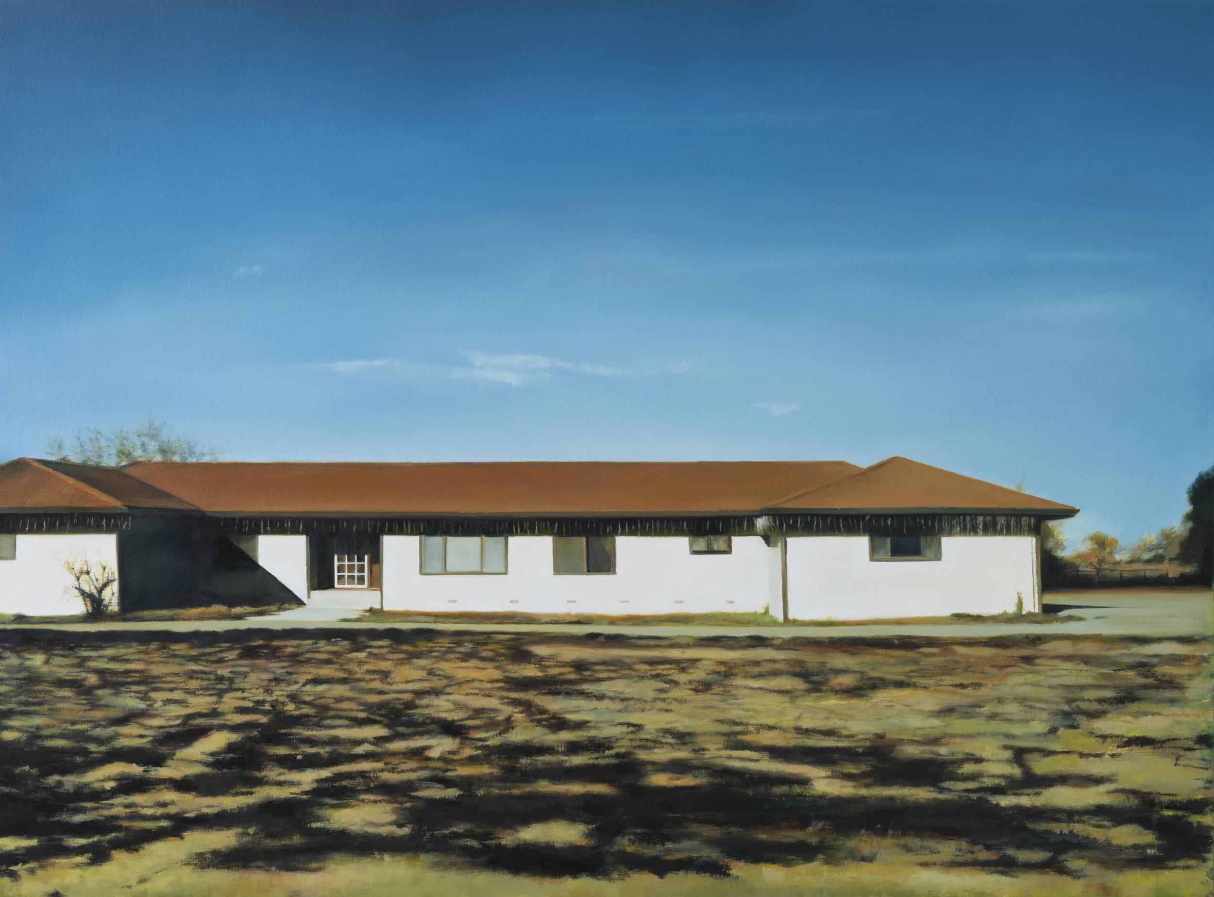 "january   40"" x 54""  oil on canvas  2012"