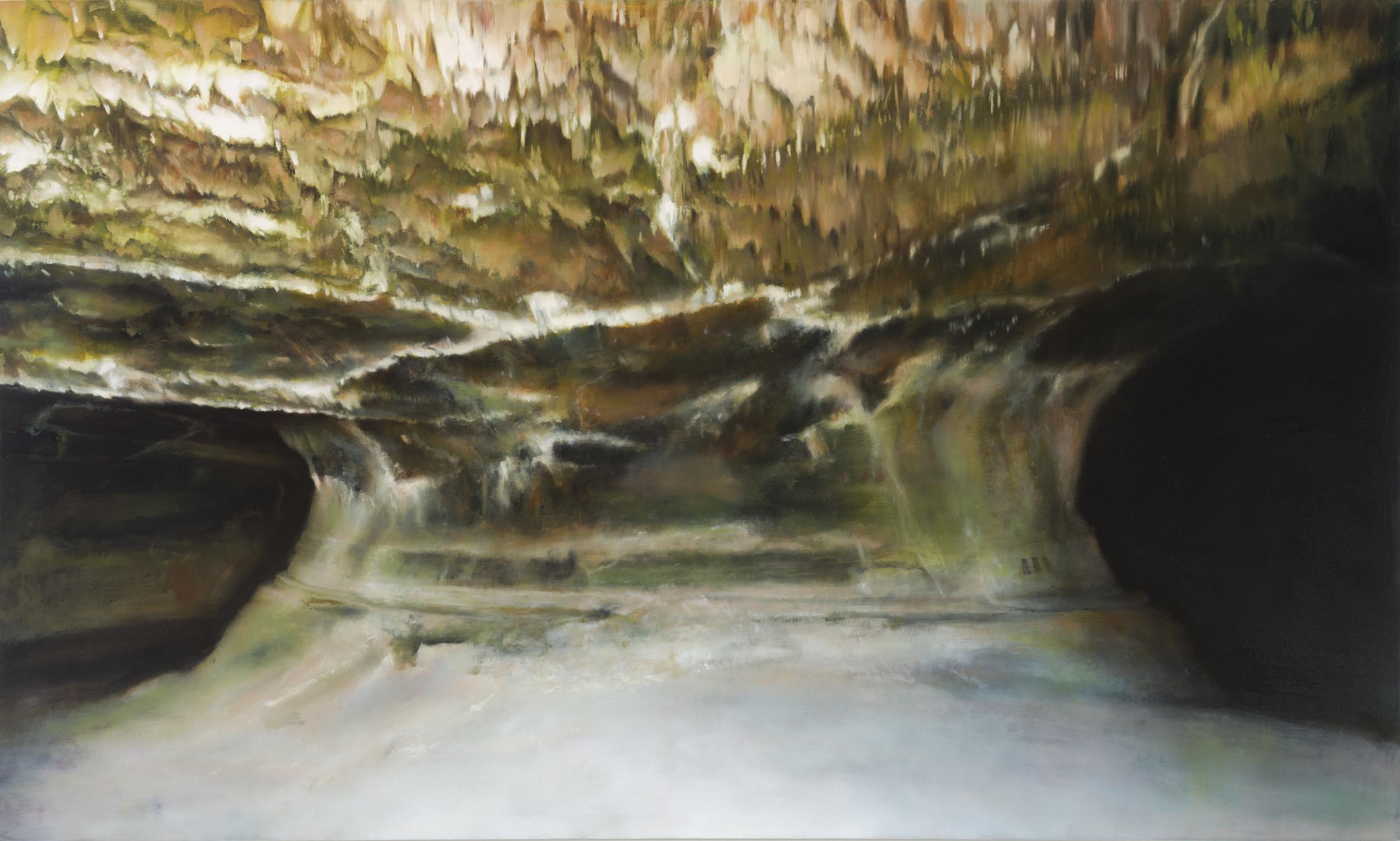 "valentine   36"" x 60""  oil on canvas  2014"