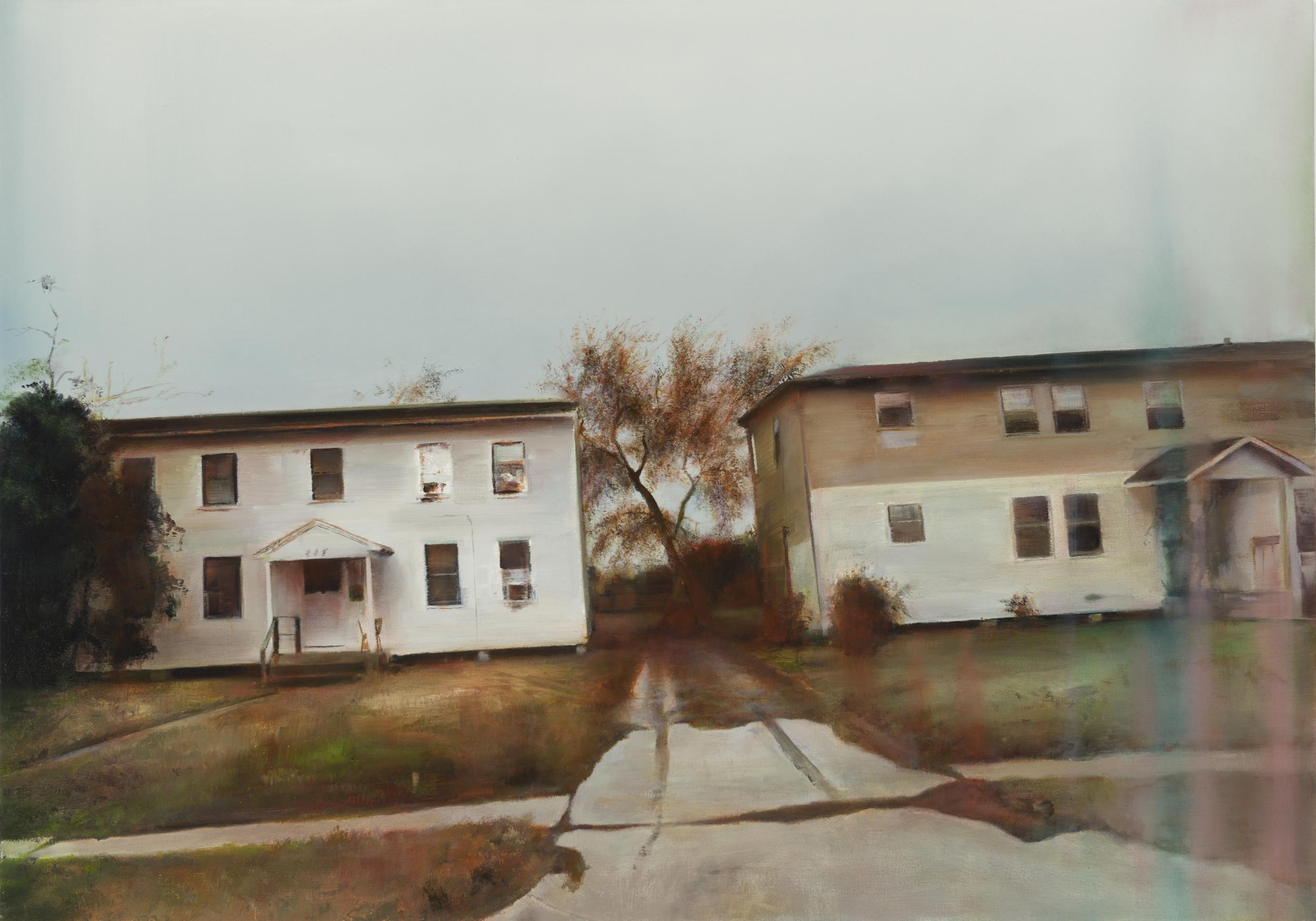 """louisiana boulevard  •  24"""" x 34""""  oil on canvas  2014"""