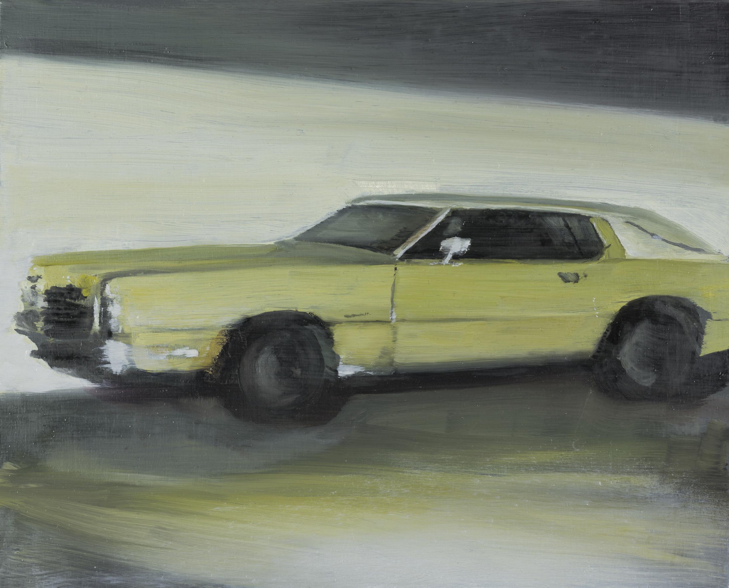 """thunderbird   8"""" x 10""""  oil on panel  2016"""