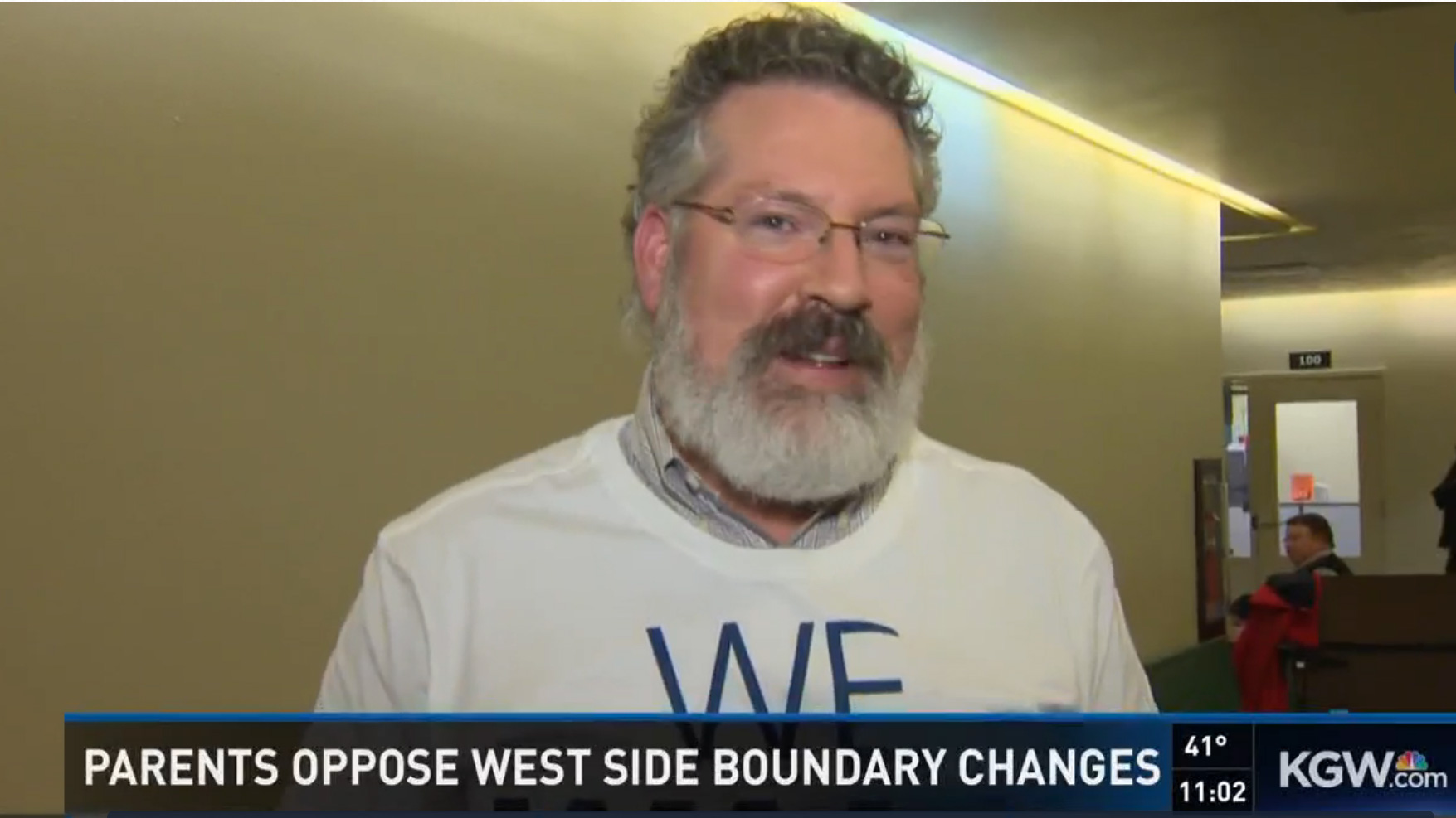 Justin Norman speaks to KGW