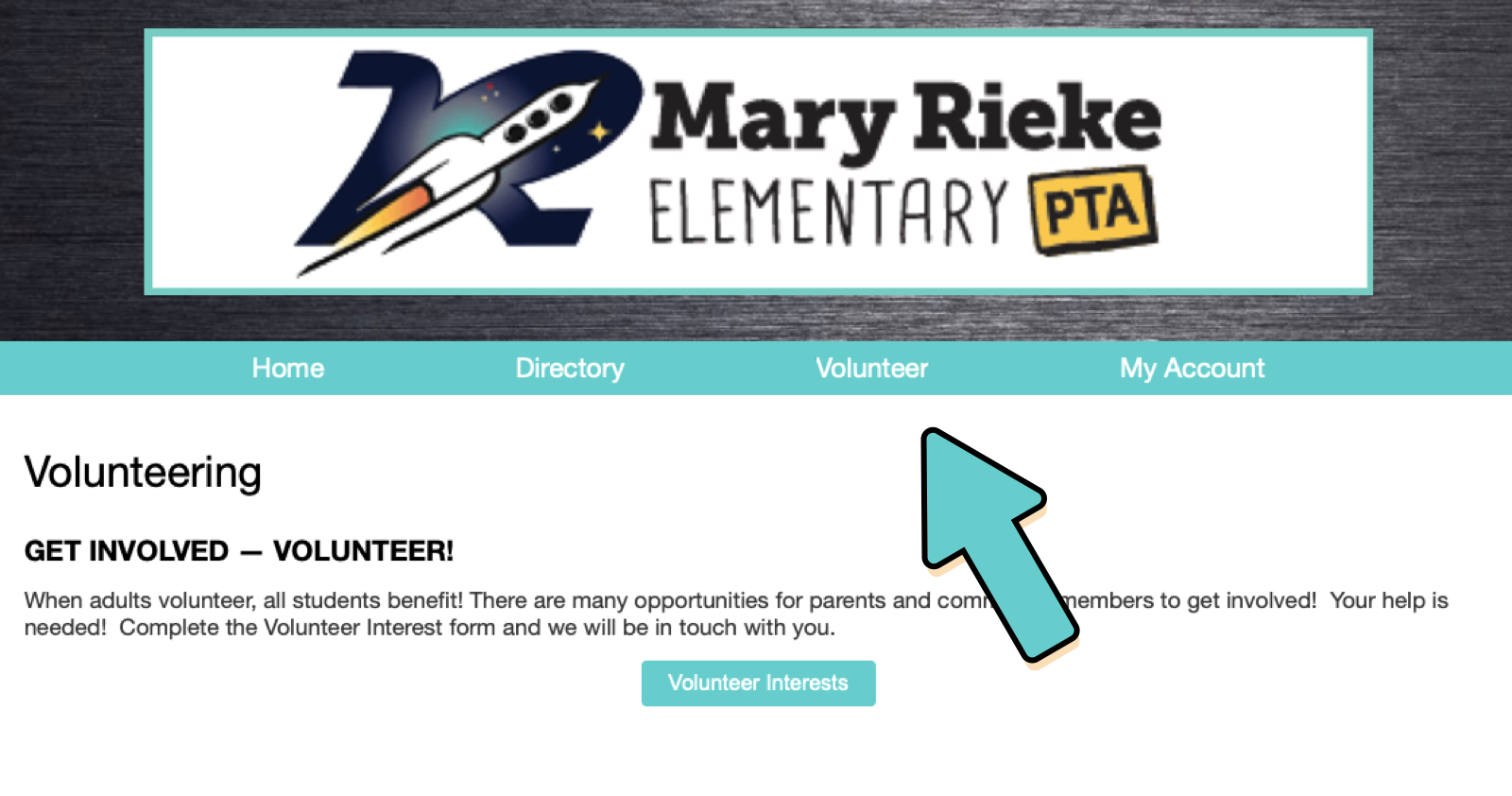 Visit our New Volunteer Database! - Find out where Rieke's volunteer needs are in details. Click here.