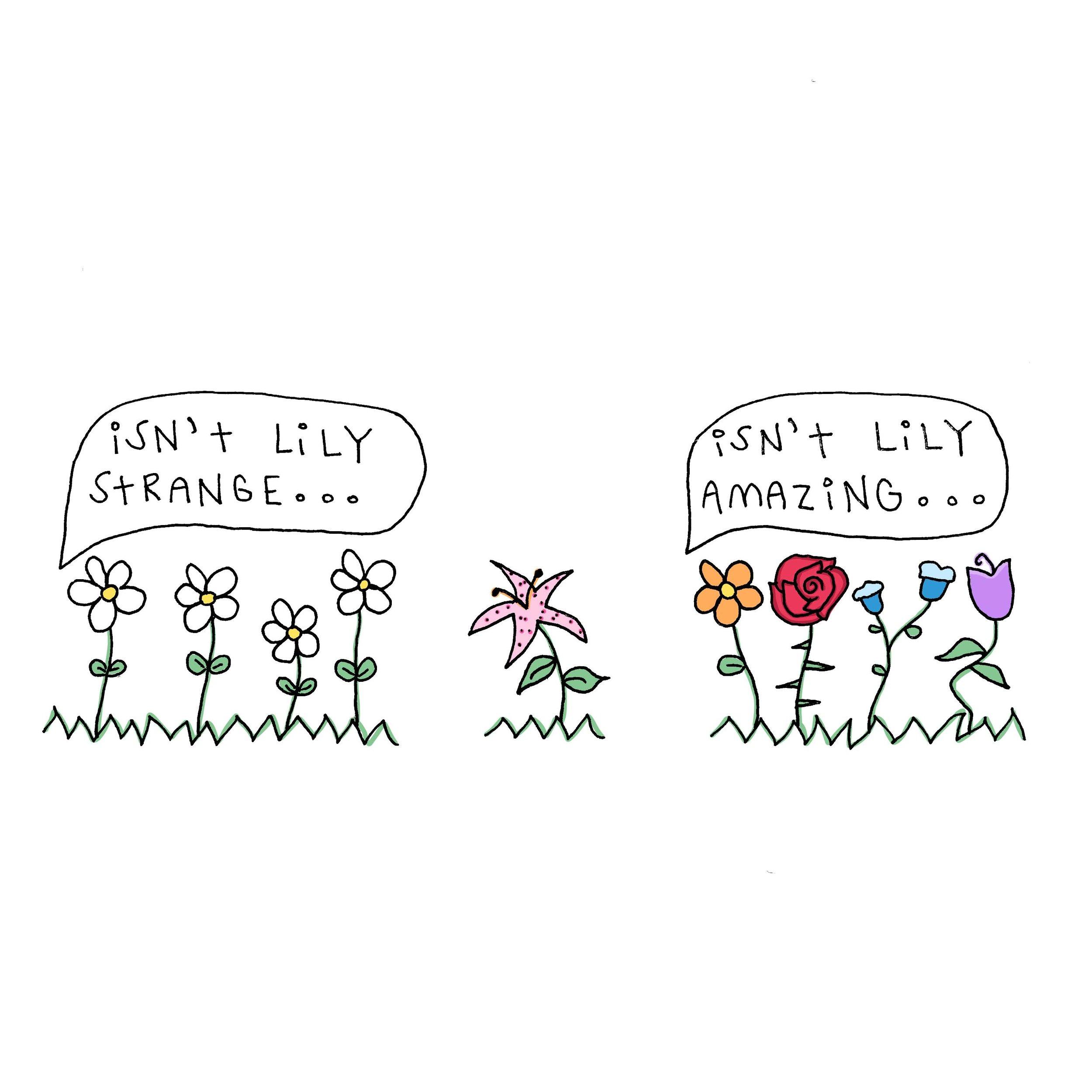 isnt lily strange.JPG