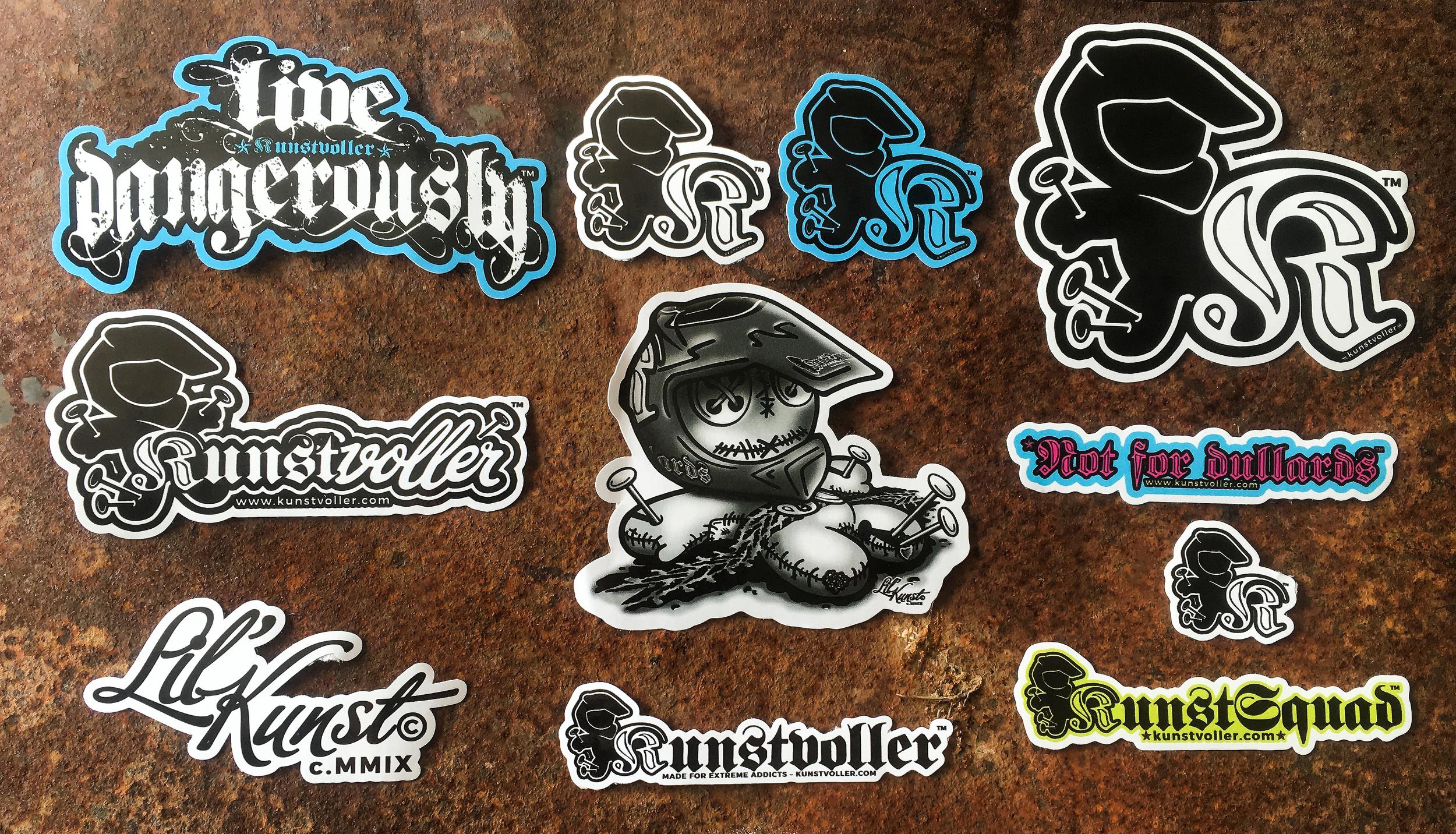 10 Sticker Set