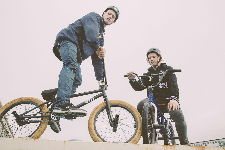 Anton Örn Arnarson & Benedikt Benediktsson -  BMX Bros