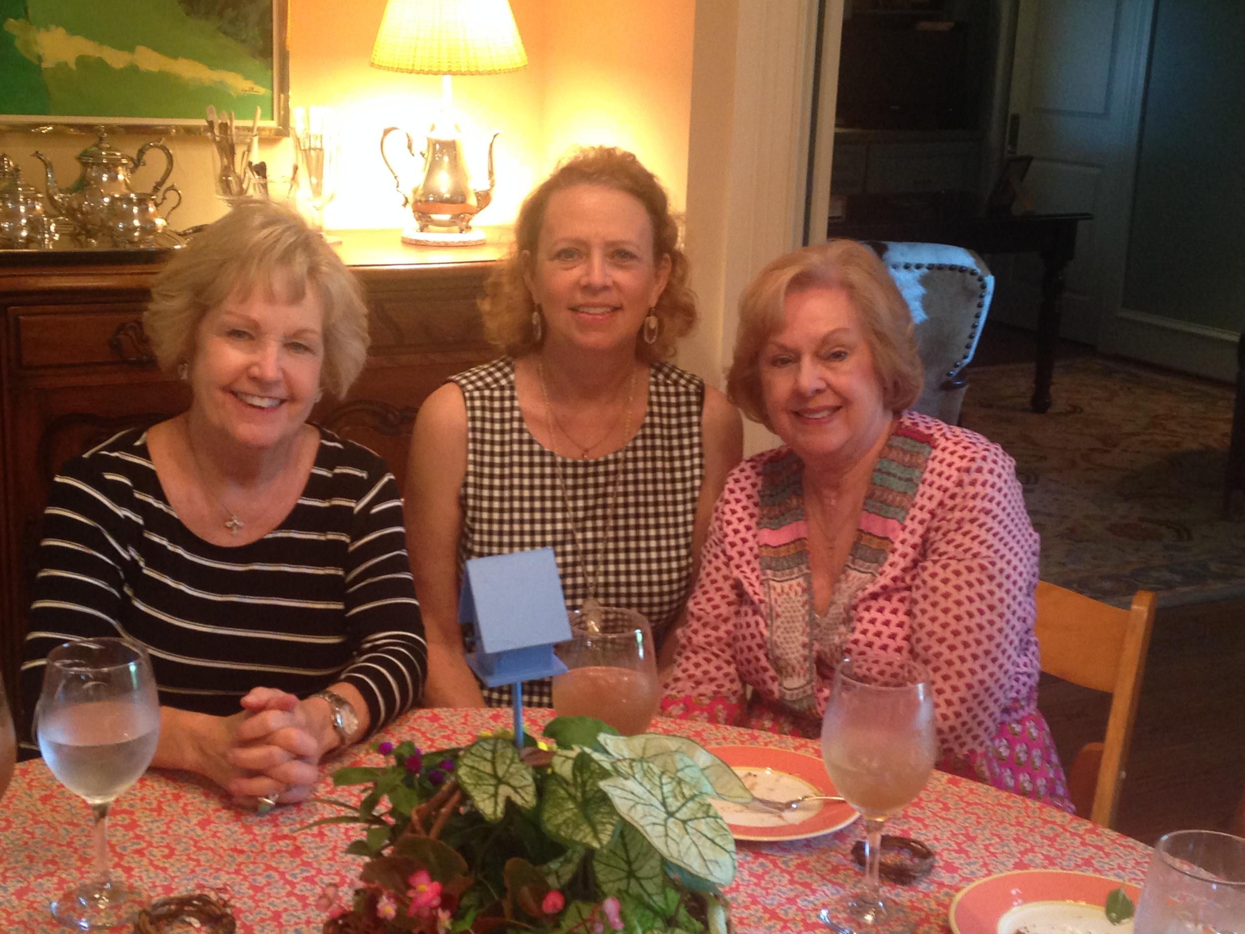 Hostesses ~ Peggy Martin, Charlotte LaRoche, Betsy Striegler