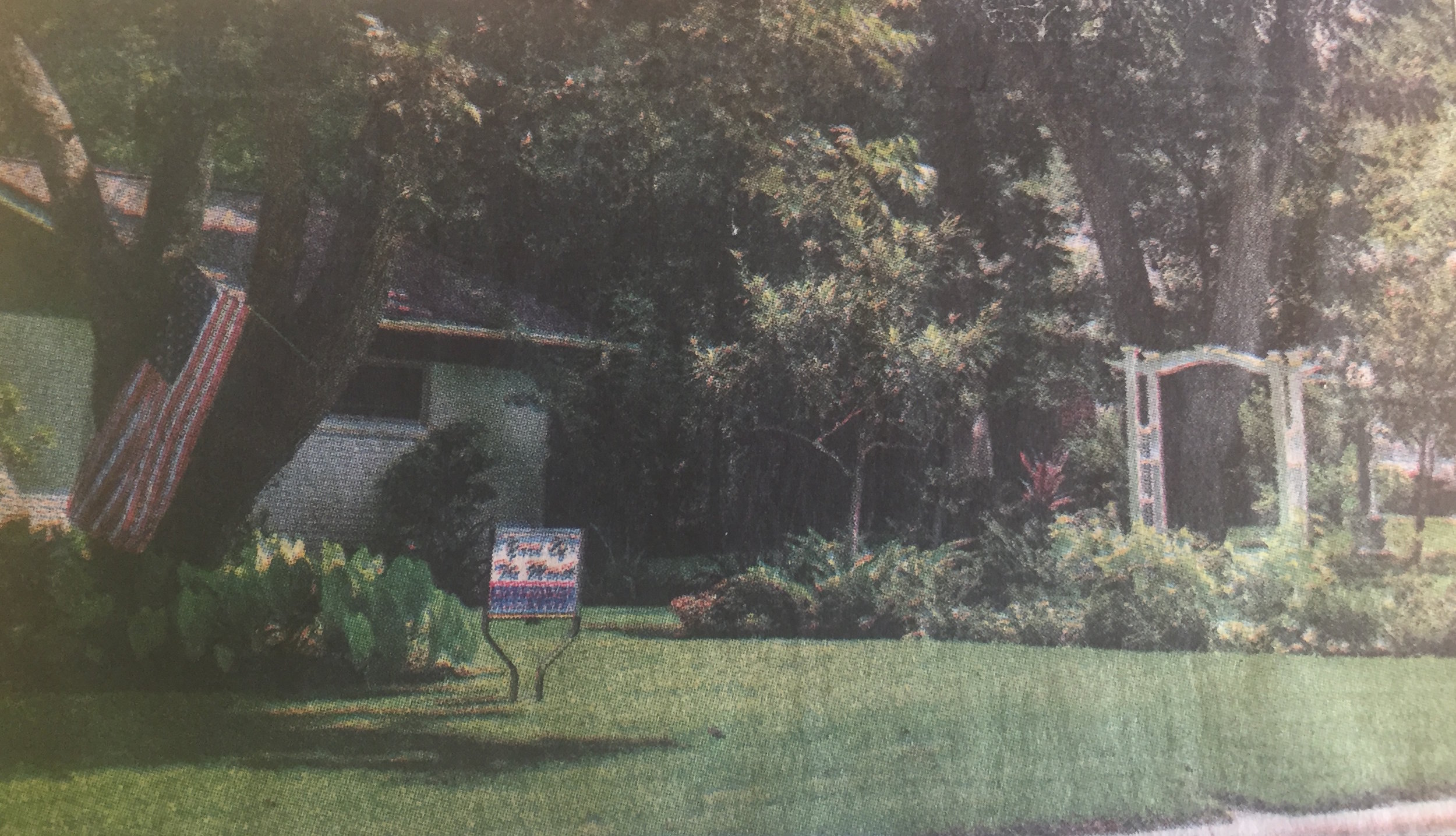 August Yard of the Month was awarded to Jim and Dayle Burkhart of 605 Walnut Hill. Jim is the keeper of the grounds and does a wonderful job of keeping everything so beautifully groomed.