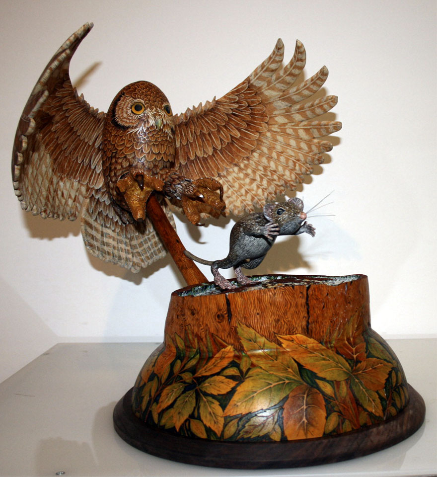 Owl and Mouse by Bill Decker.jpg