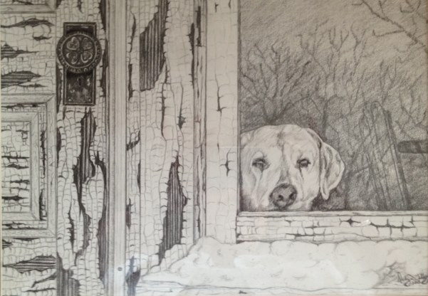 """Inside Looking Out""  graphite"