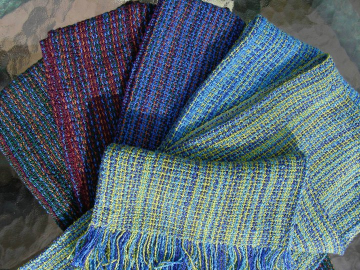 Woven Scarves in rayon