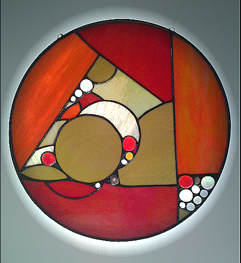 Stained glass Untitled V