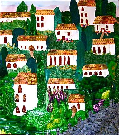 """Hills of Spain"" fiber"