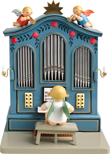 Angel Organ Music Box