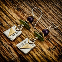 """Chit Chat"" earrings"