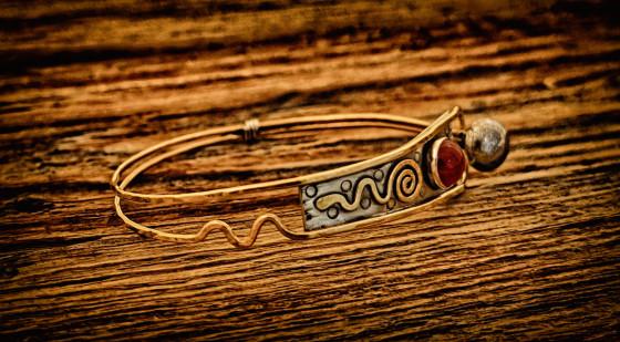 """Revelry"" bracelet"