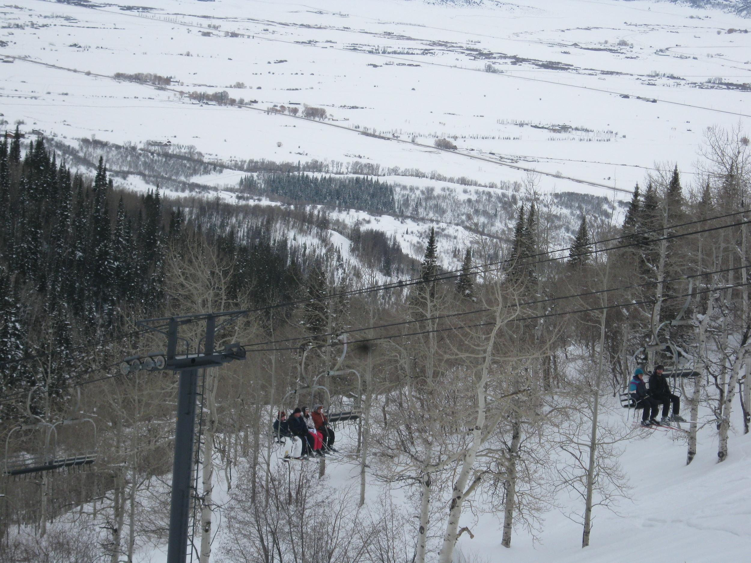 The ski lift of death.