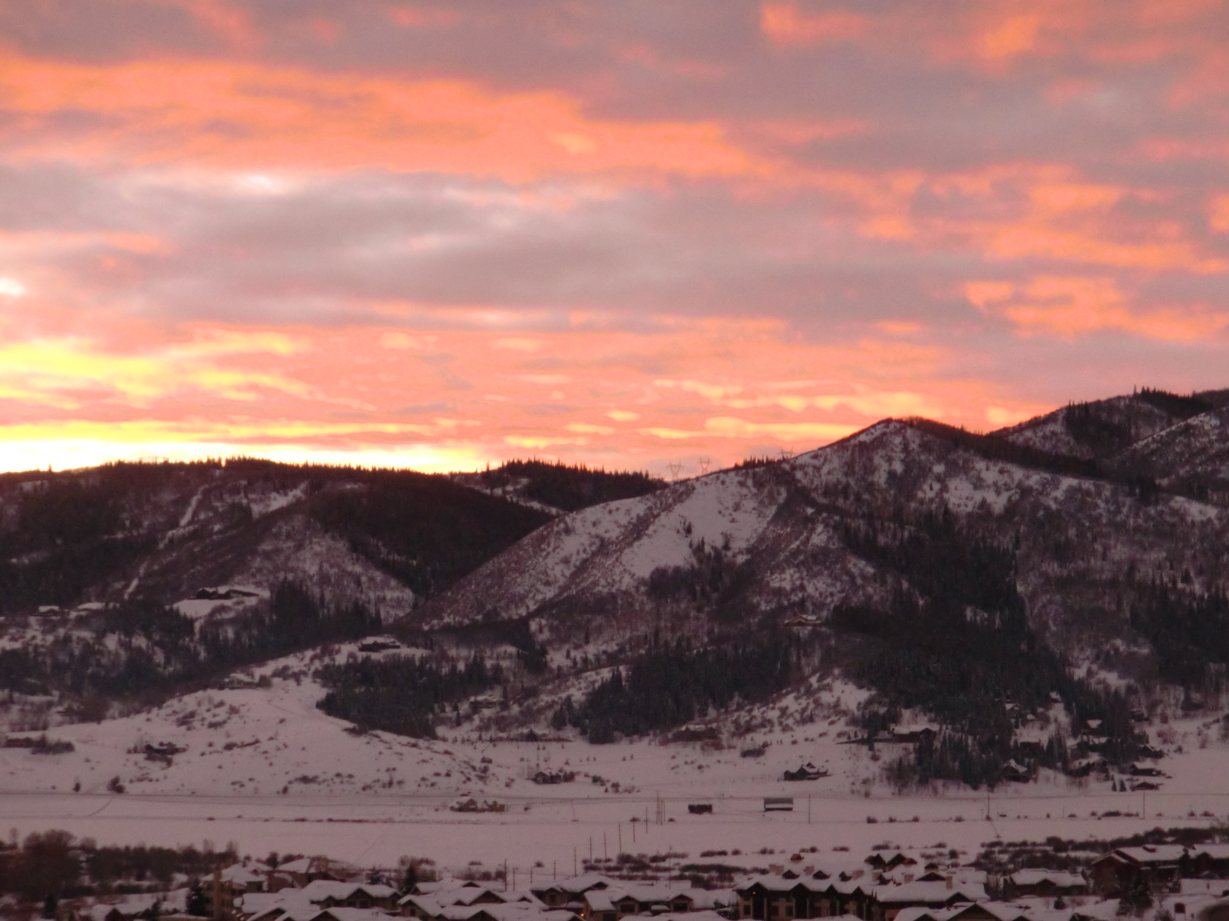 This view... almost made it all worth it. Yes, it was worth it. Steamboat Springs 2011.