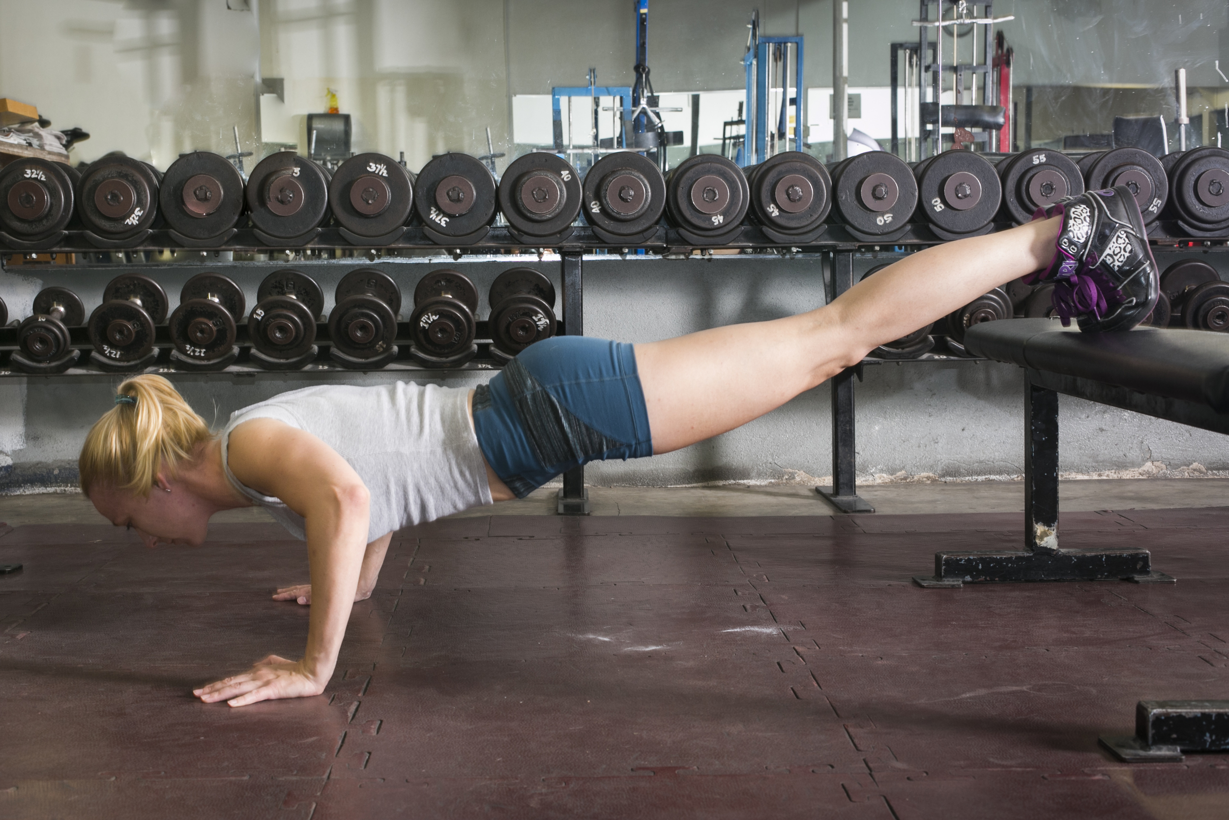 In some populations, pushups are a safer option than planks for core work.