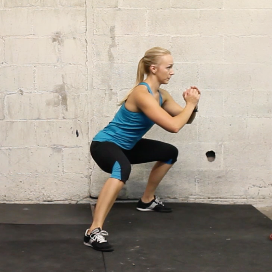 lateral squat walk