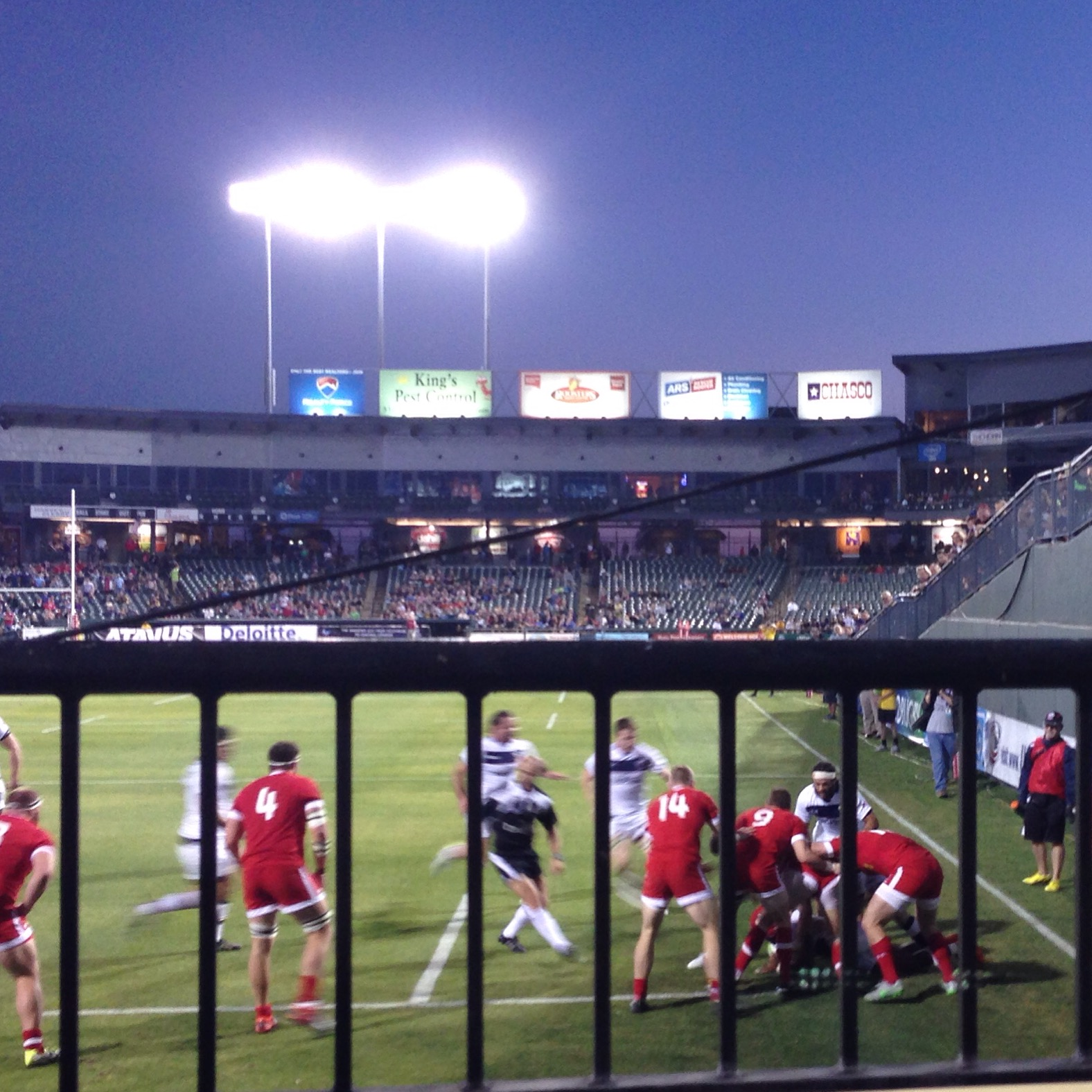 Rugby at the Dell Diamond with some of my favorite people. This was such a fun melding of two entertaining sports experiences.
