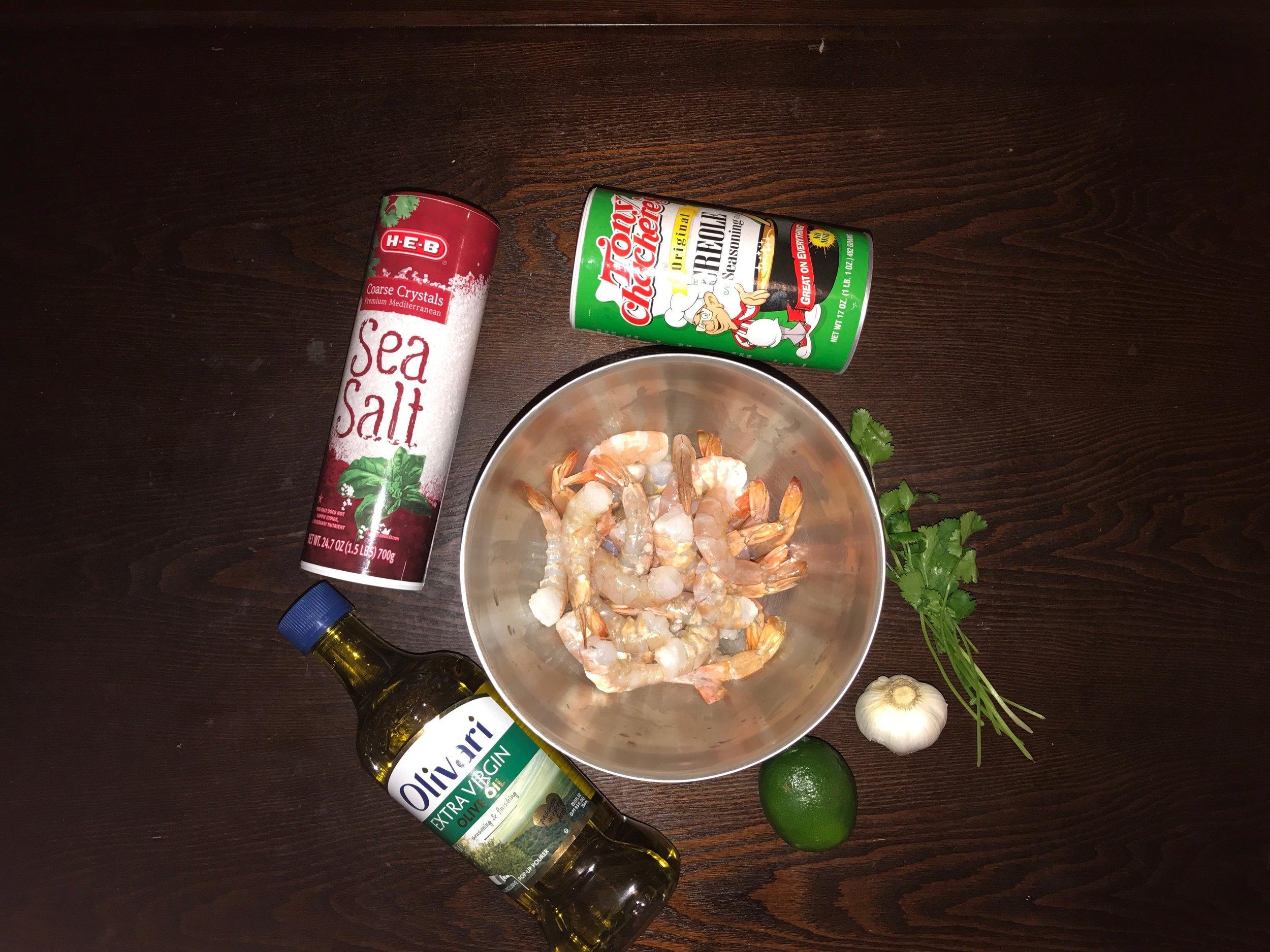 Before you begin assembling ingredients, soak the wooden kebab skewers.