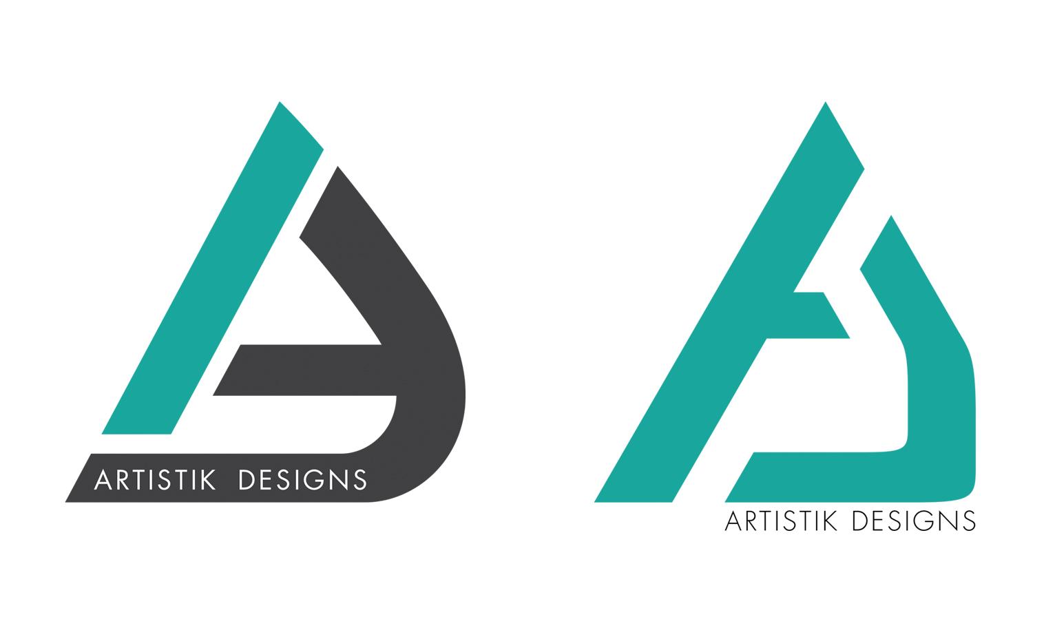 Finalizing the logo design.