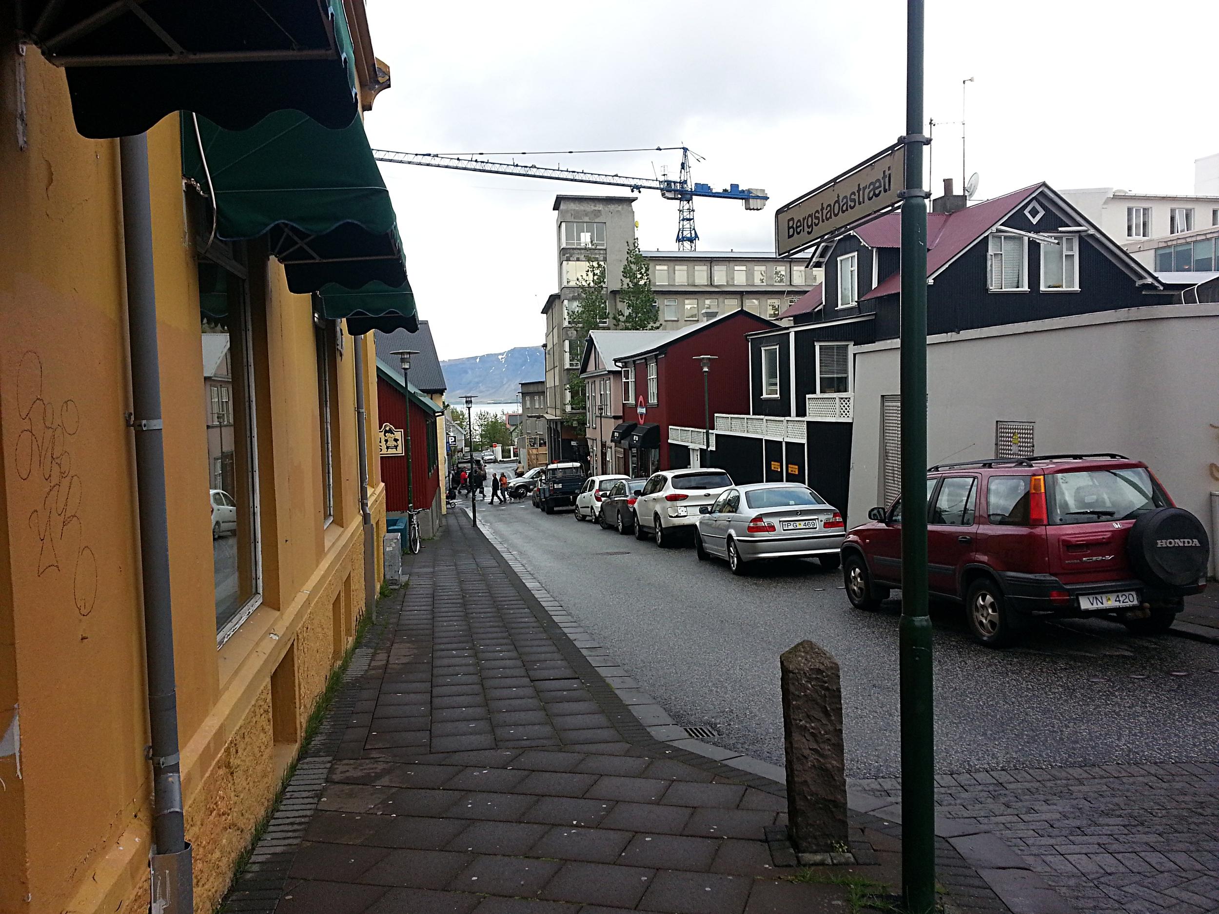 Reykjavík street