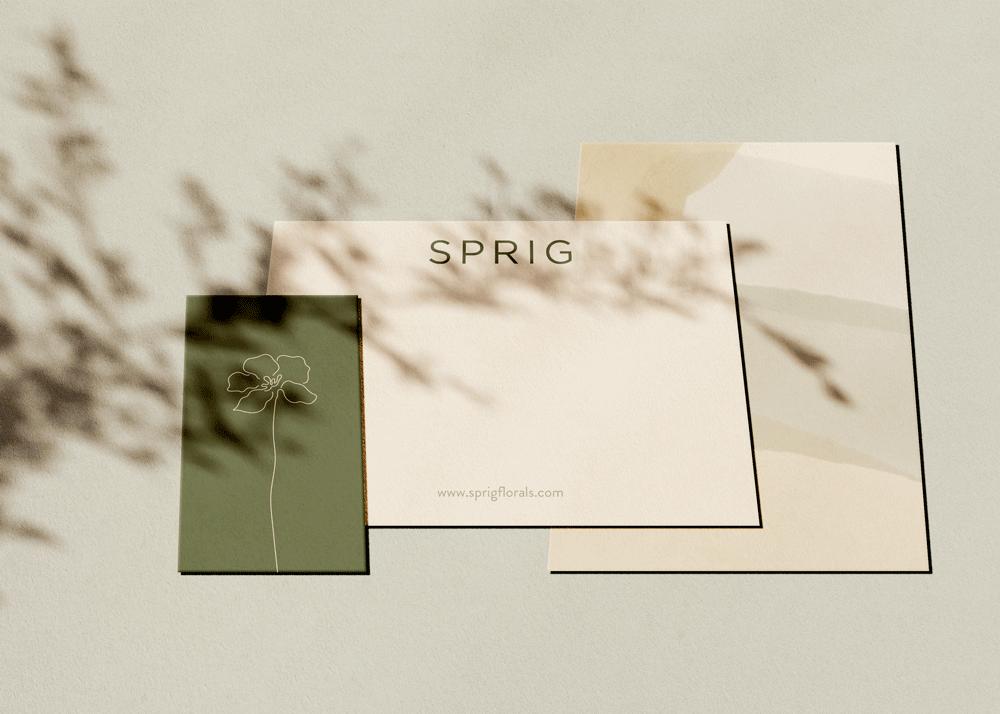 SPRIG  - Brand Identity