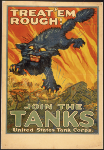 United States Tank Corps. 1917: National Printing & Engraving Co. Library of Congress.