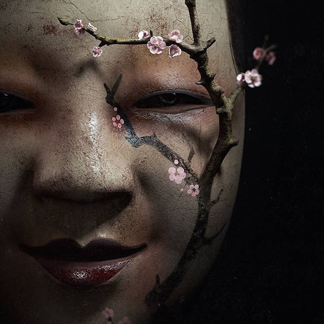 Mask ⠀ ⠀⠀ #newcontemporary #popsurrealism #beatifulbizarremagazine #japaneseart #darkartist #thinkspacegallery ⠀⠀ #thegraphicspr0ject #hifructose #ig_shotz_magic #xceptionaledits #manipulationclan #ps_opposites #darkart #thecreativers #launchdsigns #eerie #weekly_feature #japan #artselect #pr0ject_uno #visual_creatorz #digitallyart #mask #render #cinema4d #adobe #behance #photoshop #design #zbrush ⠀⠀