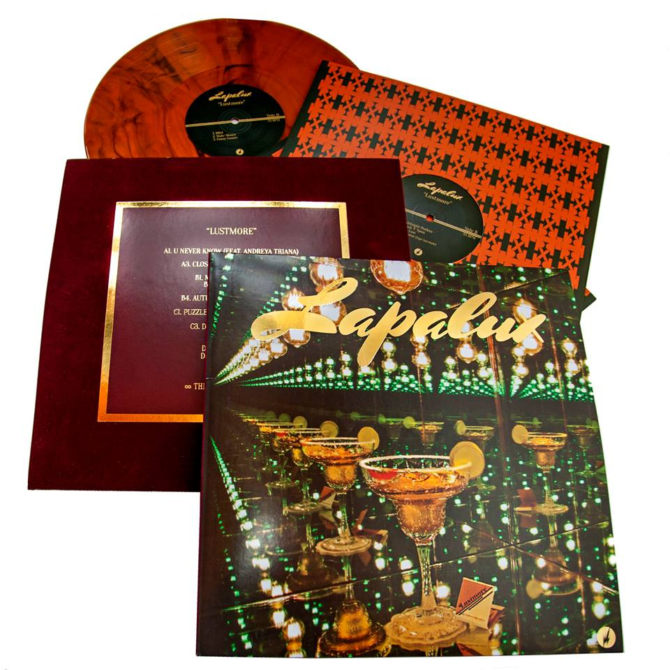 """Lapalux 'Lustmore"""" album art and design."""