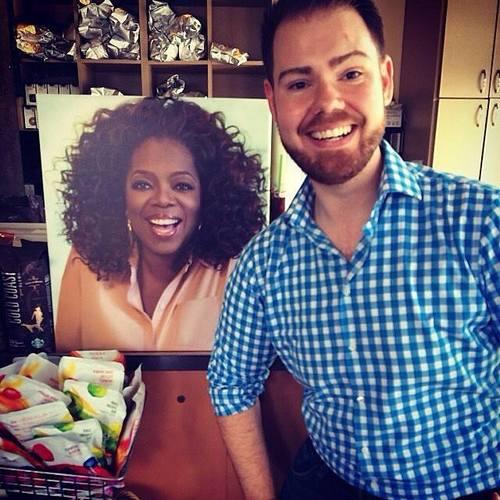 My Oprah Selfie!