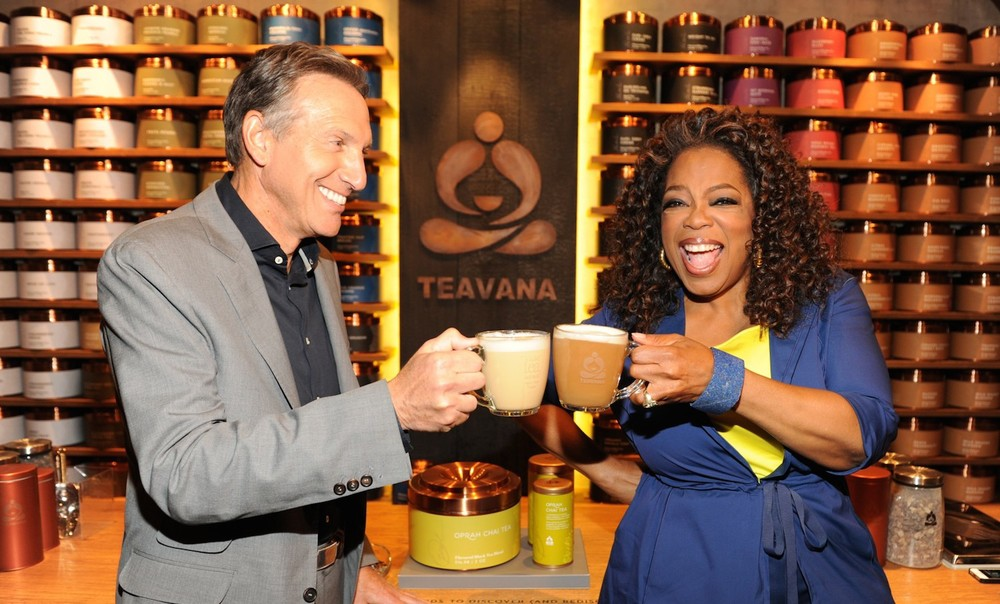 Bow down to Mama O and her magical chai! Photo credit: Starbucks