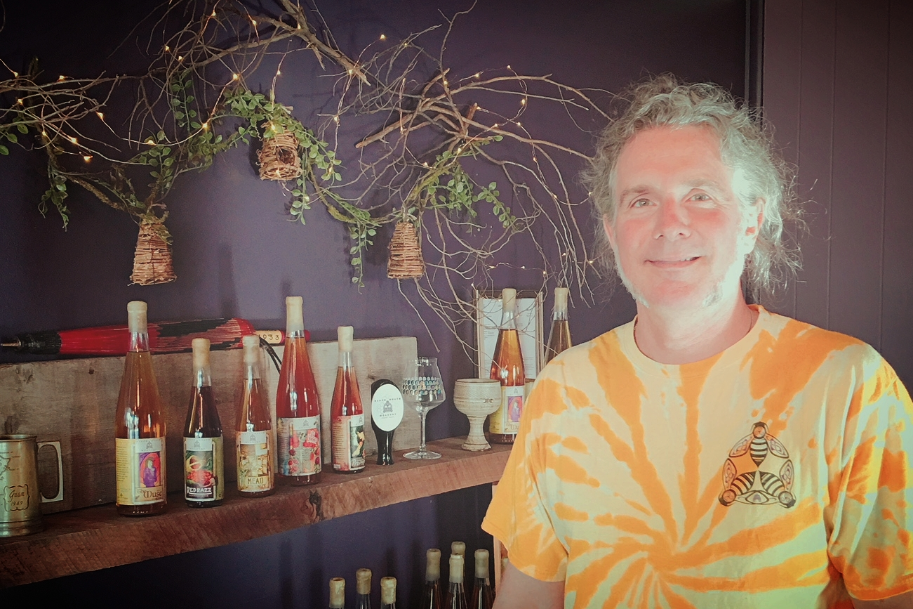 Bill Cavender of Black Heath Meadery