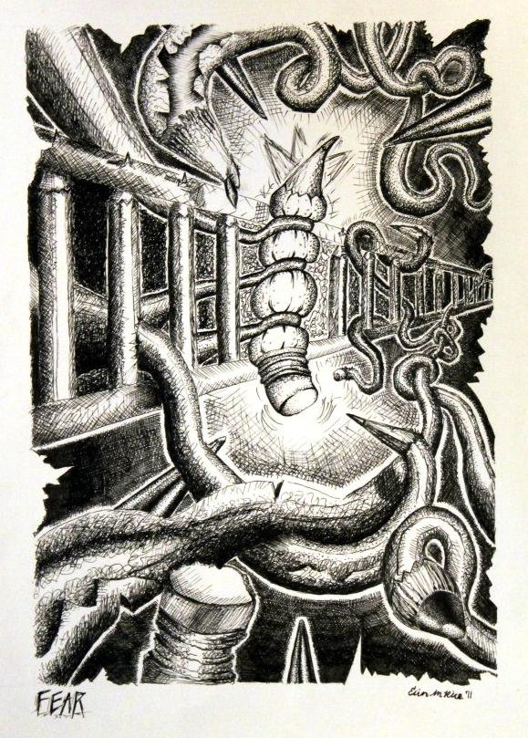 Fear (Pen), 2008