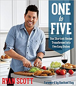 One to Five: One Shortcut Recipe Transformed Into Five Easy Dishes (Writer, Oxmoor House, 2016)